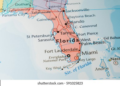 Us Map With Interstates Stock Photos Images Photography - Us-map-showing-interstates