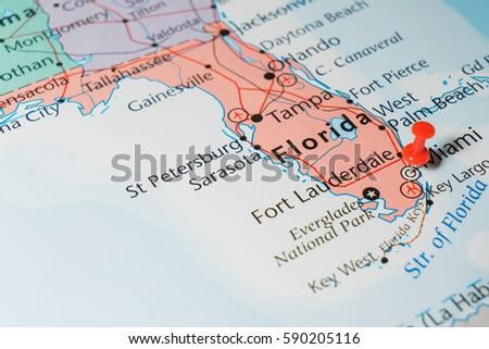 Map Sarasota Florida.Florida Map Stock Photo Royalty Free 590205116 Shutterstock