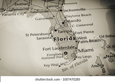 St Petersburg Florida Map.1000 Florida Keys Map Pictures Royalty Free Images Stock Photos