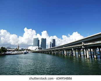 Florida, Miami, bay view