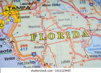 Florida On Usa Map.Florida Map Images Stock Photos Vectors Shutterstock