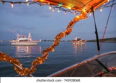 Florida Winter Christmas Boat Parade