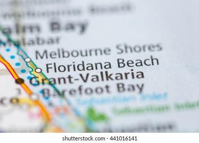 Floridana Beach. Florida. USA