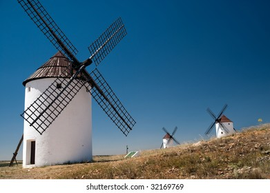 Flour mill in La Mancha, Spain