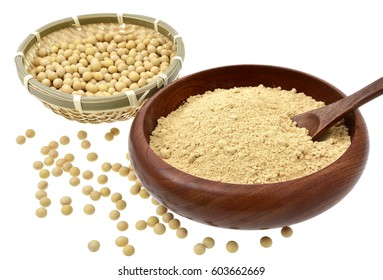 KINAKO?Soybean flour) and soybeans
