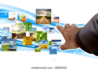 Flow of picture in streaming