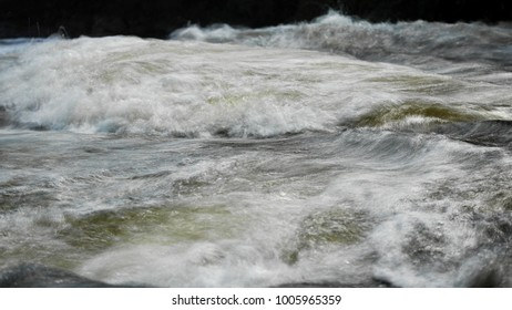 flow of streams from waterfall