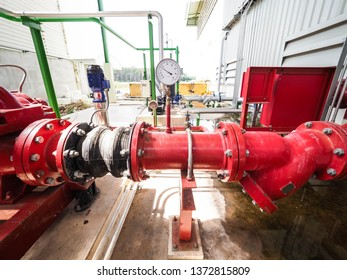 Flow transmitter of Turbine type for monitoring and control flow of gas or water in industry zone at power plant.