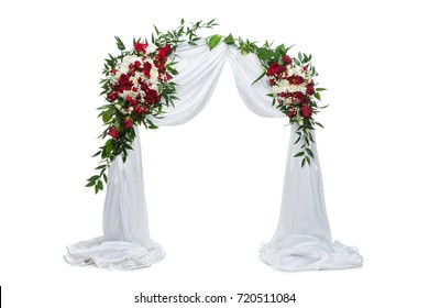 flower arch wedding decoration