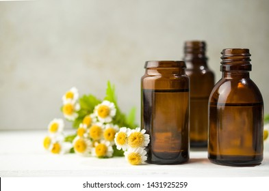 Flower aromatherapy oils, natural medicine, home spa