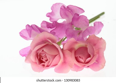 Flower arrangement of a gentle sign of spring