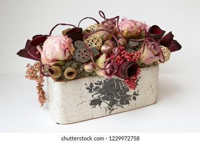 Flower arrangement still life