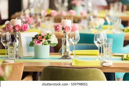 Flower Arrangements For Wedding Reception Tables