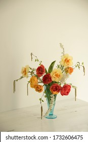flower bouquet on the light background