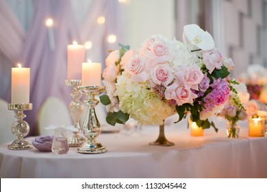 flower compositions with roses, orchids and ivy