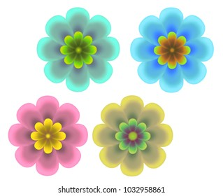 flower design set