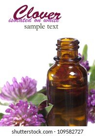 Flower essential oil for aromatherapy.