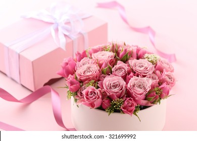 Flower gift images stock photos vectors shutterstock flower gift negle Images