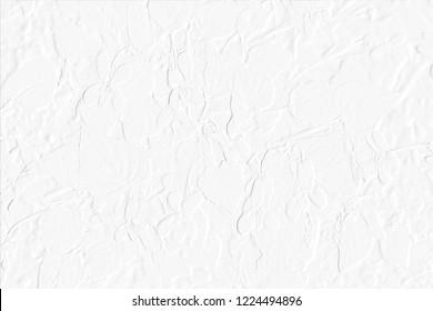Flower Imprint on White Background, Wallpaper