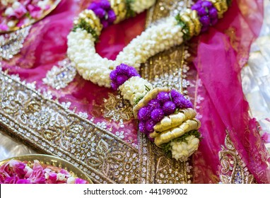 flower indian wedding garland
