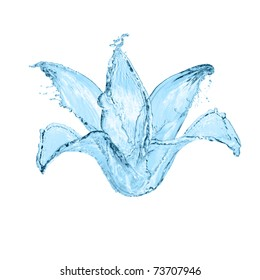 flower made of water. see more on my page