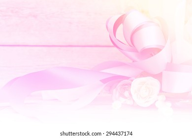 flower motion blur sweet on wooden background