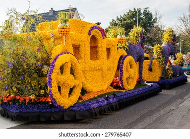 Flower parade Bloemencorso in Netherlands
