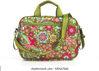 Flower Patterned Tote Diaper Bag