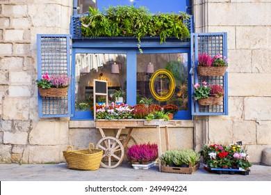 Flower shop, Spain