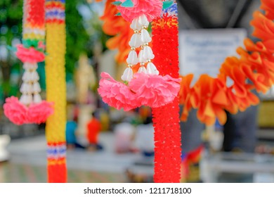 Flower steering Sacred To worship or worship. In the hope and in the hope Often found in temples or shrines.