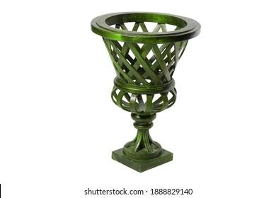 Flower vase for living room background image