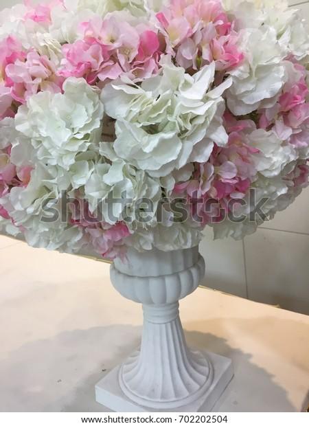 Flower in the wedding fair.