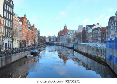 Flowermarket / Bloemenmarkt ,Amsterdam, The Netherlands