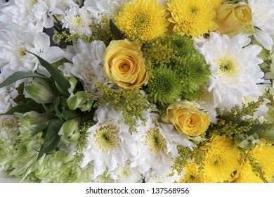 Flowers as a background