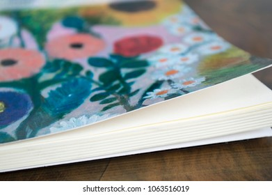 Flowers book diary