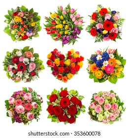 Flowers bouquet for Birthday, Wedding, Mother's Day, Easter, Anniversary, Holidays. Roses, Tulips, Peony