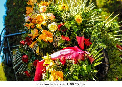 Flowers for the Day of All Saints. Death