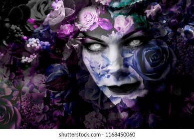 Witch Face Images, Stock Photos & Vectors | Shutterstock