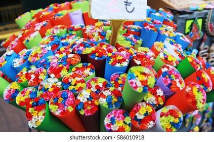 Flowers for Sale in La Rambla, Barcelona