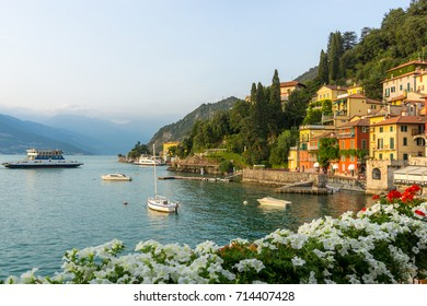 Flowers at Varenna, Lake Como, Italy