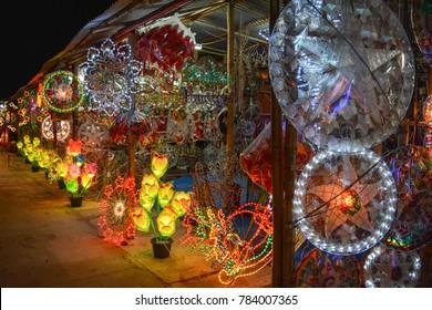 Christmas Lights In Pampanga.Philippines Christmas Lantern Images Stock Photos Vectors