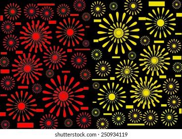Bright Vibrant Modern Abstract Design Floral Stock Illustration 130831235    Shutterstock