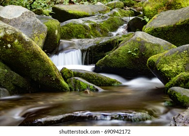 Flowing Water in Creek