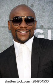 Floyd Mayweather Jr. at the 2015 Spike TV's Guys Choice Awards held at the Sony Pictures Studios in Culver City, USA on June 6, 2015.