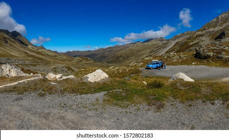 Fluela Pass and Stelvio Pass