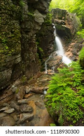 Flume gorge with running water