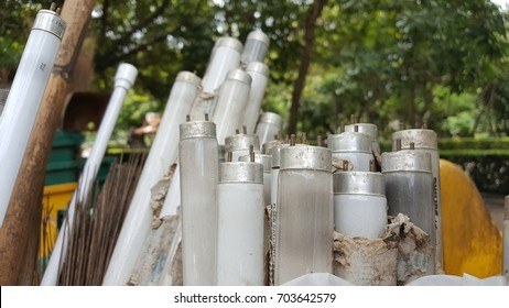 Fluorescent lightbulbs is consider as household hazardous waste