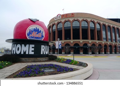 FLUSHING, NY - APRIL 11: Citi Field, home of major league baseball team the New York Mets on April 11, 2013 in Flushing, NY