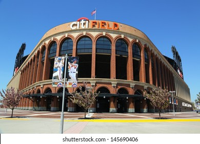 FLUSHING, NY - MAY 2: Citi Field, home of major league baseball team the New York Mets on May 2, 2013 in Flushing, NY. The Mets will host the Major League Baseball All-Star Game on July, 16 2013