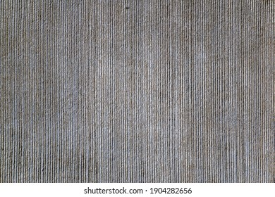 Fluted surface, vertically grooved from rough concrete, rough surface prefabricated material